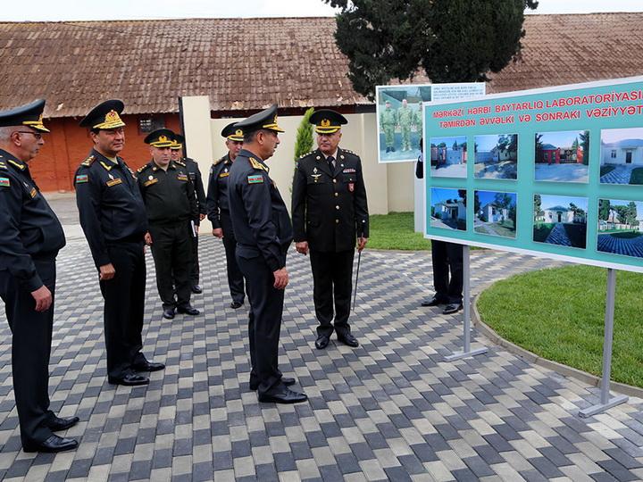 Министр обороны принял участие в открытии Центральной военной ветеринарной лаборатории – ФОТО – ВИДЕО