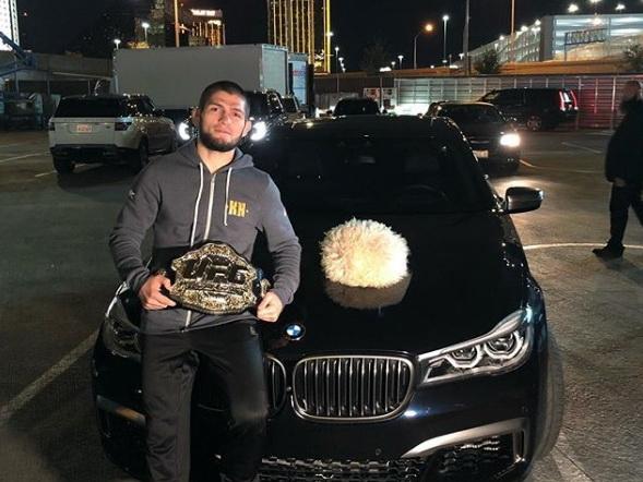 Нурмагомедов «пригрозил» разбить машину президенту UFC - ФОТО