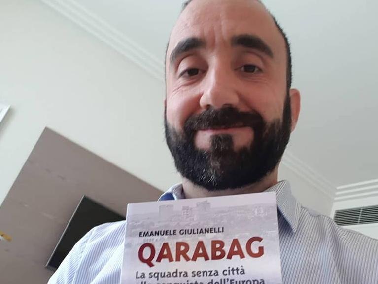 «Клуб без города, покоривший Европу». Итальянец написал книгу про «Карабах» и нагорно-карабахский конфликт