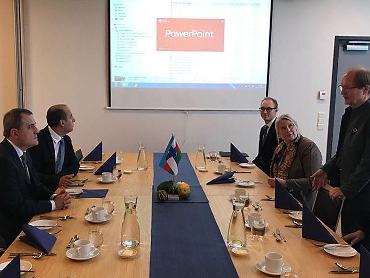 Делегация во главе с министром образования Джейхуном Байрамовым посетила Финляндию - ФОТО