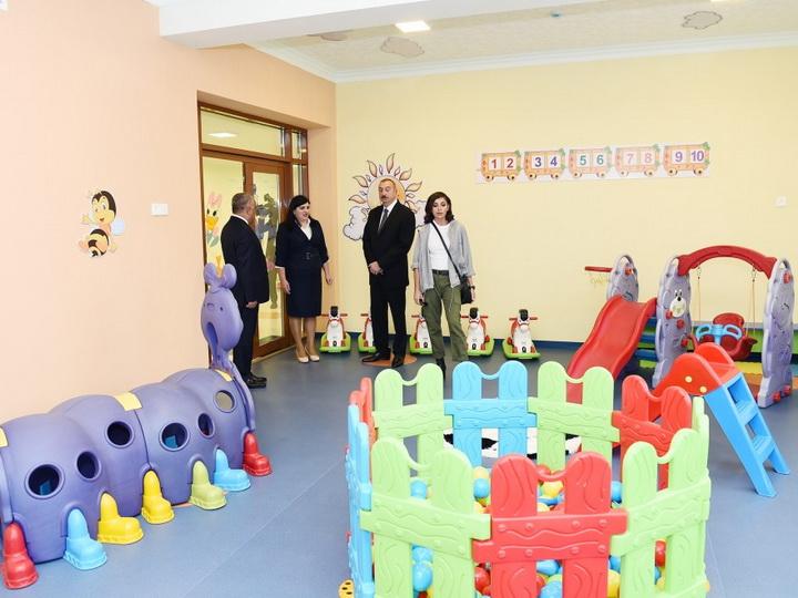 В Губе открылся детский сад-ясли «Гюнеш» - ФОТО