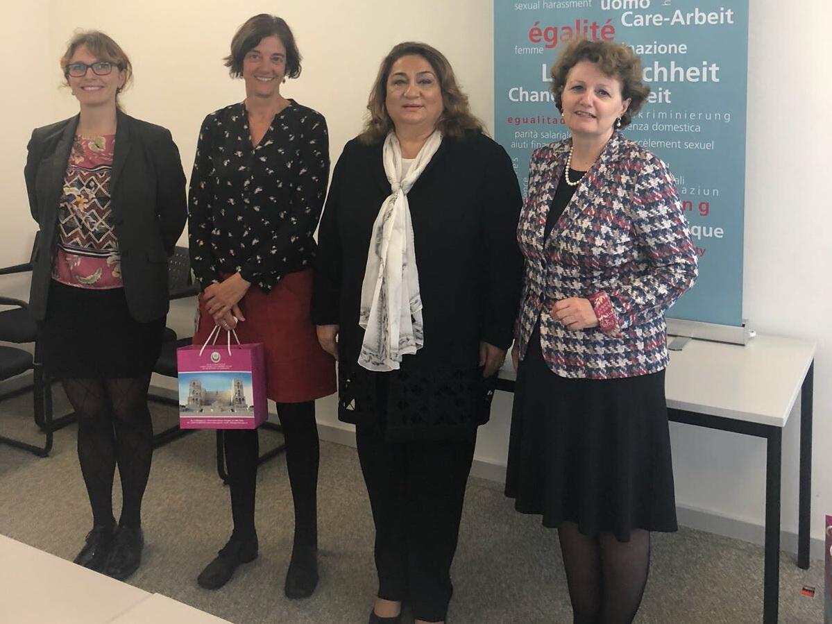 Хиджран Гусейнова провела ряд важных встреч в ходе визита в Швейцарию - ФОТО