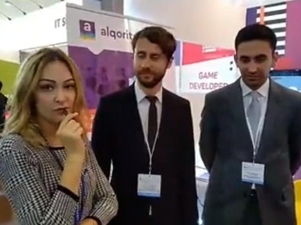 Проект «Цифровые навыки» на XII Азербайджанской международной образовательной выставке - ВИДЕО
