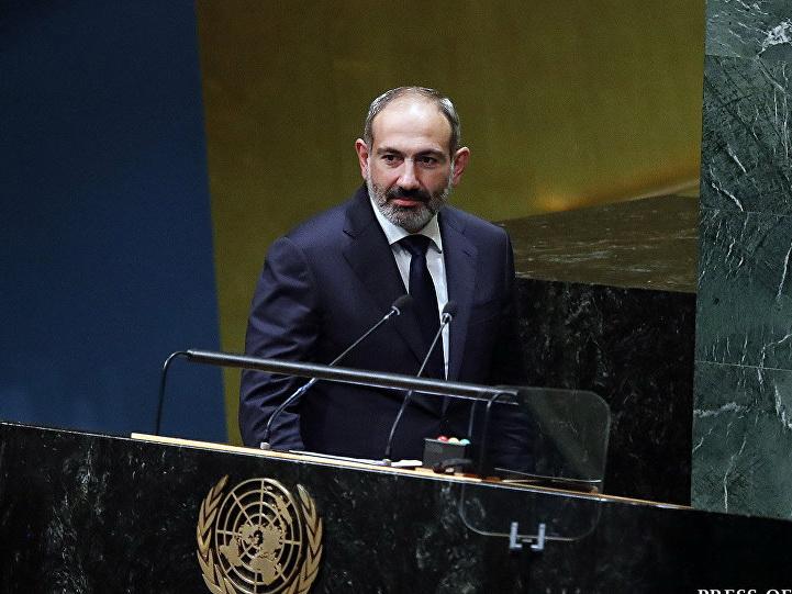 Пашинян снова выступил с провокационным заявлением по карабахскому урегулированию