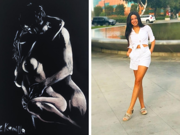 Эротика в искусстве. Камилла Зарбалиева: «Мало что на свете вызывает у человека такой сильный интерес, как нагота» - ФОТО