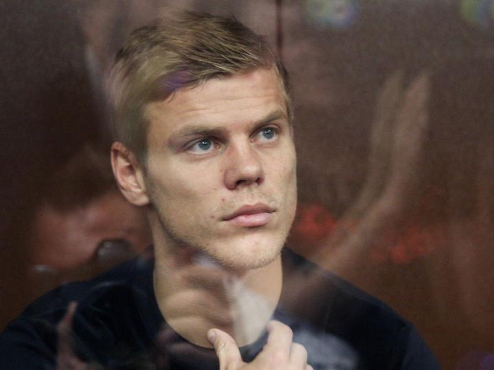 Александра Кокорина арестовали на два месяца
