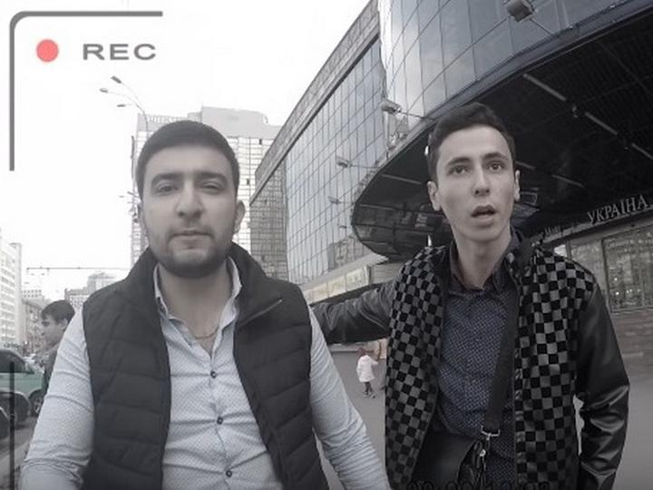 Азербайджанцы устроили разборку с украинскими блогерами из-за парковки в центре Киева – ВИДЕО