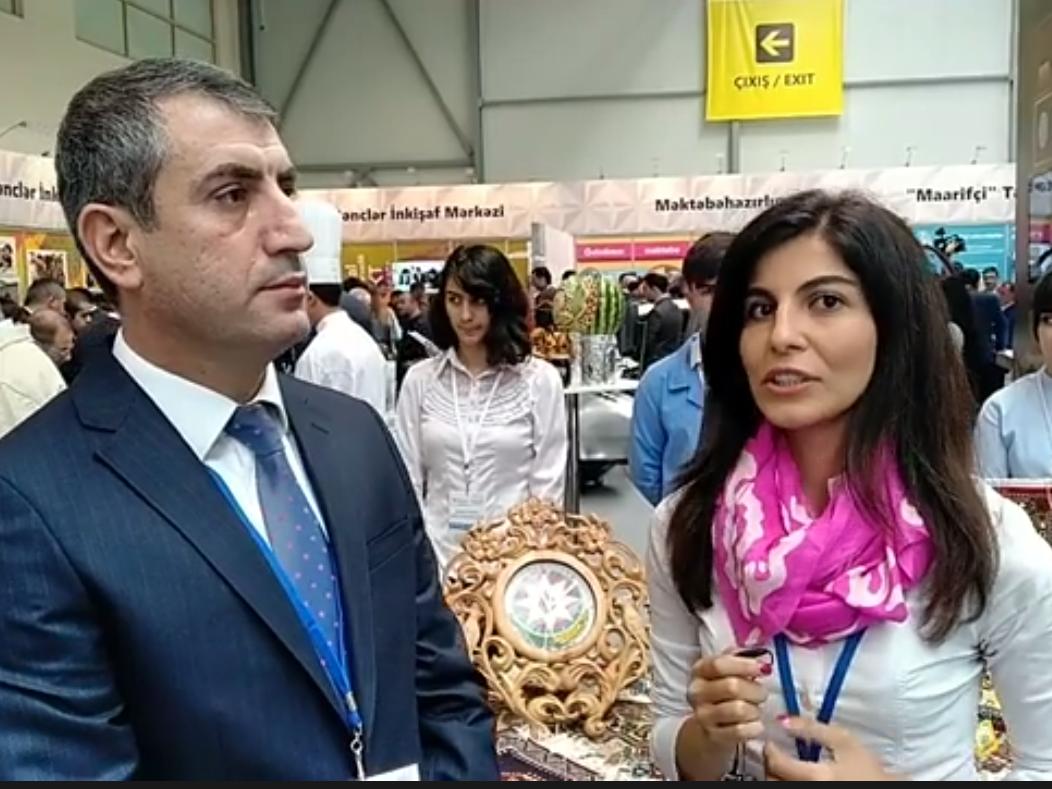 Госагентство профобразования представлено на XII Азербайджанской международной образовательной выставке - ВИДЕО