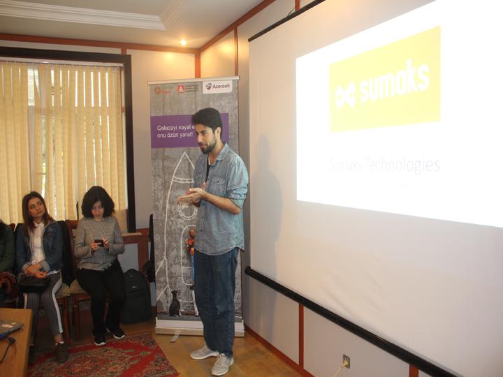 Центр Barama компании Azercell продолжает оказывать поддержку молодым стартапам в Гяндже – ФОТО