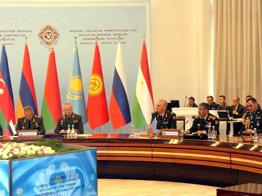 Министр обороны Азербайджана принял участие в очередном заседании Совета министров обороны СНГ – ФОТО