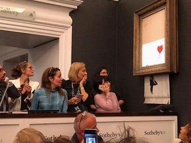 Покупатель изрезанной картины Бэнкси решил оставить сделку в силе - ВИДЕО