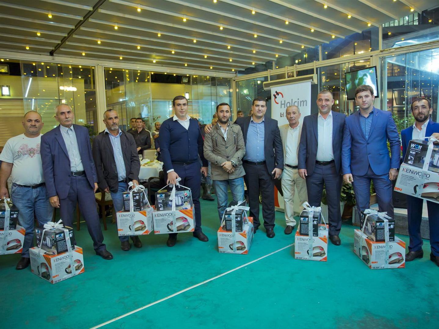 Holcim Azərbaycan организовал встречу с представителями по продаже цемента в регионах – ФОТО – ВИДЕО