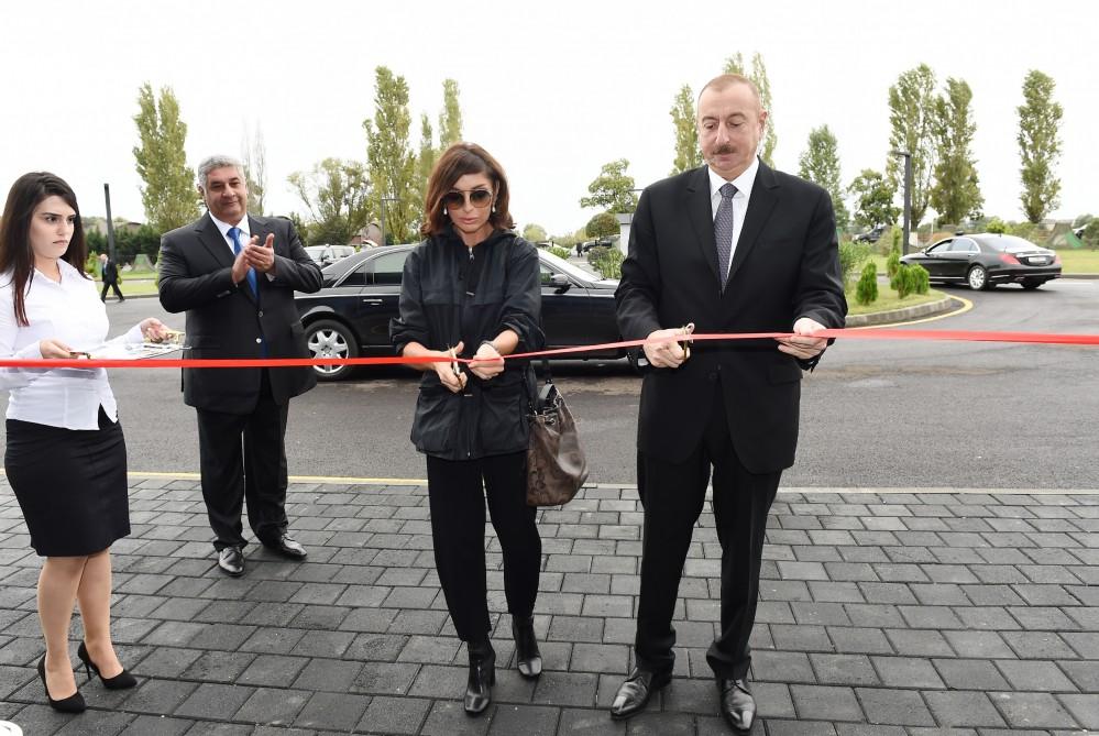 Президент Ильхам Алиев принял участие в открытии Лянкяранского олимпийского спортивного комплекса - ФОТО