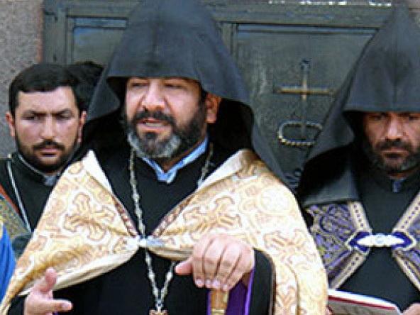 В Тбилиси представители армянского духовенства провели акцию протеста