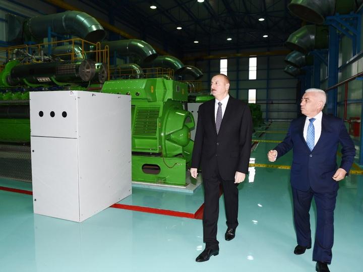 Prezident İlham Əliyev Lerik rayonunda elektrik stansiyasının açılışında iştirak edib - FOTO