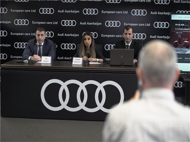 Роскошный и элегантный кроссовер Audi Q8 уже в Баку – ФОТО