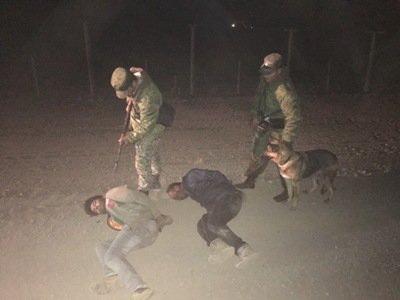 Российские пограничники задержали выходцев из Южной Азии на армяно-турецкой границе - ФОТО
