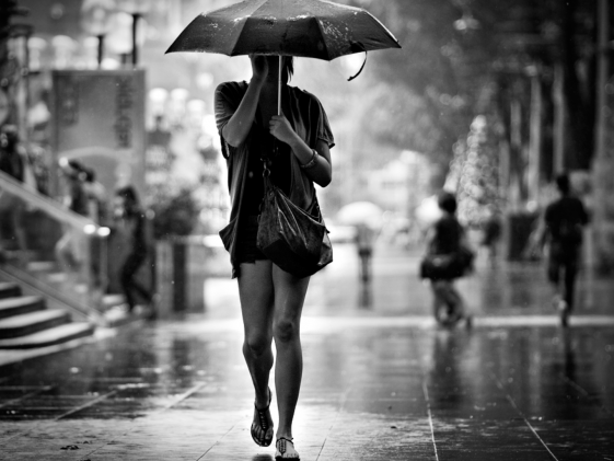 В четверг на Абшероне временами дождь