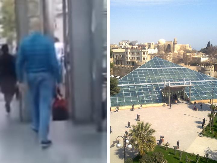В Баку появился великан - ФОТО - ВИДЕО