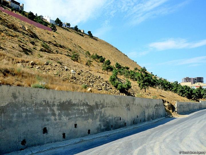 Badamdardakı sürüşmə ərazisində yeni çatlar əmələ gəlib