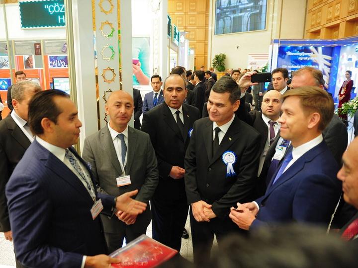 AzerTelecom приняла участие в международной выставке в Туркменистане - ФОТО