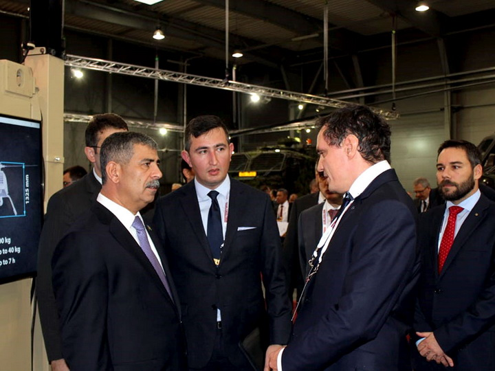 Закир Гасанов принимает участие на «Международной Выставке Будущих Сил 2018» - ФОТО