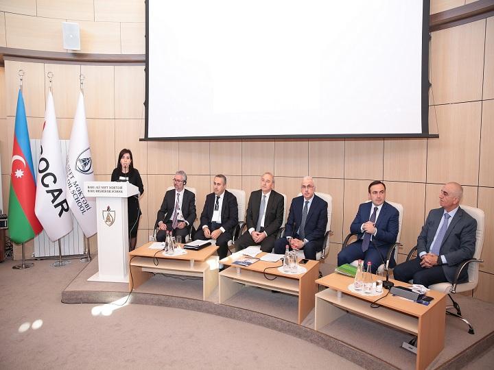 Bakı Ali Neft Məktəbində III Avrasiya Konfransına start verilib – FOTO