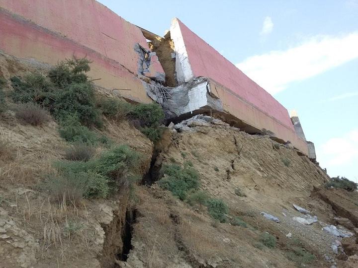 Badamdar sürüşmə zonasında çatların ölçüləri böyüyür – YENİLƏNİB