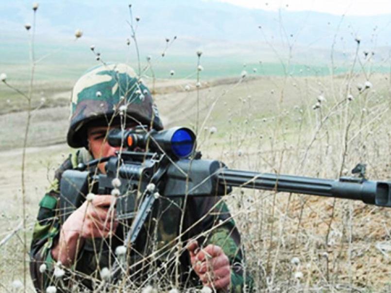 Ermənistan silahlı qüvvələrinin bölmələri iriçaplı pulemyotlardan istifadə etməklə atəşkəs rejimini 30 dəfə pozub