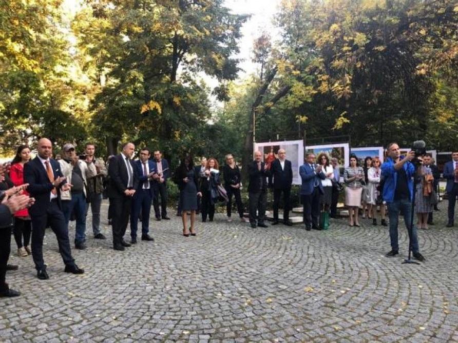 Azərbaycan Xalq Cümhuriyyətinin 100 illik yubileyi Bolqarıstanın Plovdiv şəhərində qeyd olunub VİDEO