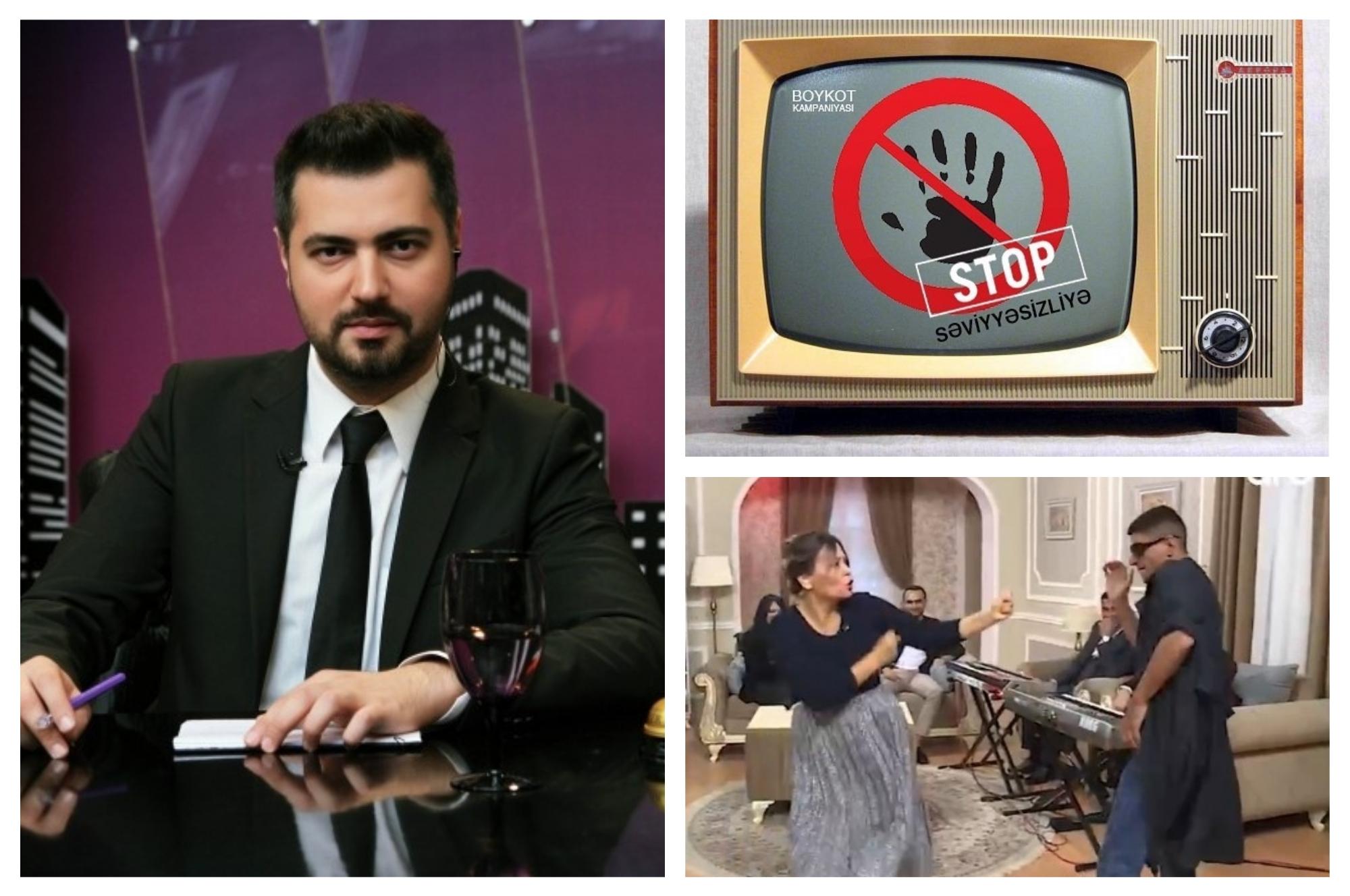 Телеведущий Ранар Мусаев объявил бойкот безобразию на ТВ: «Səviyyəsizliyə stop!» - ФОТО – ВИДЕО