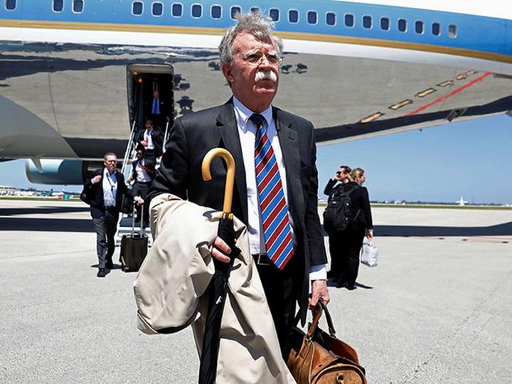 Джон Болтон прибыл в Москву с визитом