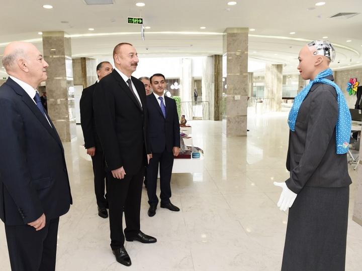 Президент Ильхам Алиев принял участие в открытии комплекса «ASAN Həyat» в Имишли - ФОТО