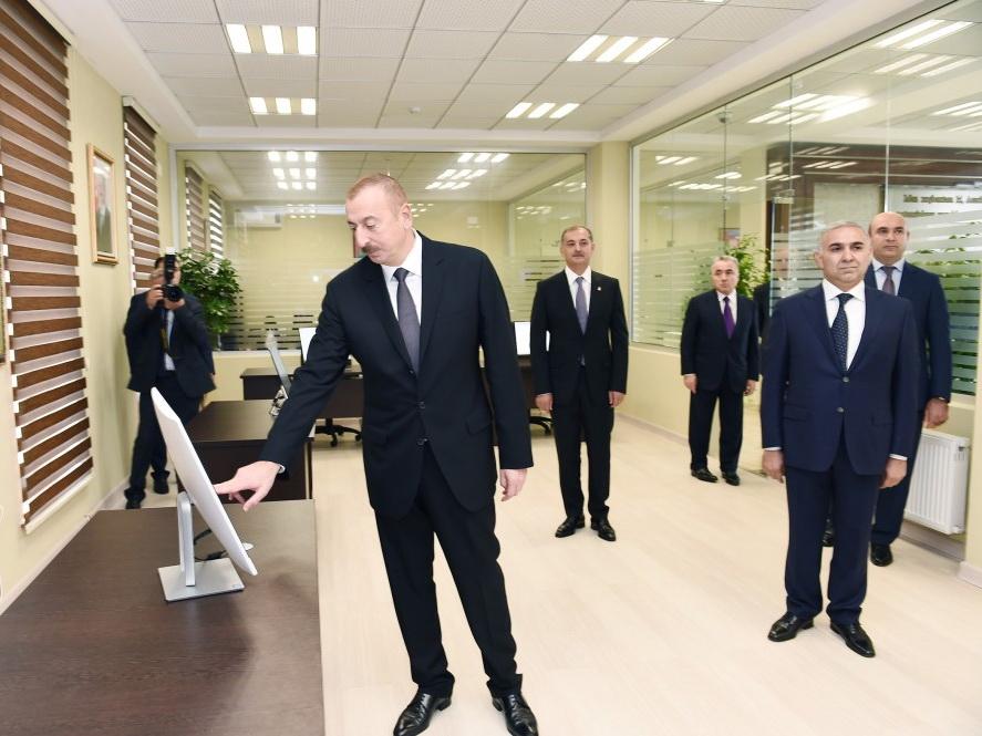 Состоялось открытие Имишлинского центра автоматического управления и контроля ОАО «Азеришыг» - ФОТО