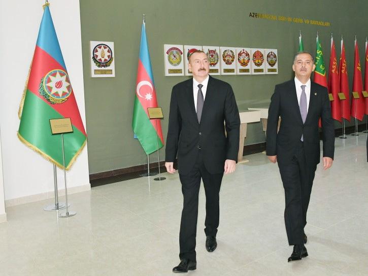 В Имишли открылся Музей флага - ФОТО