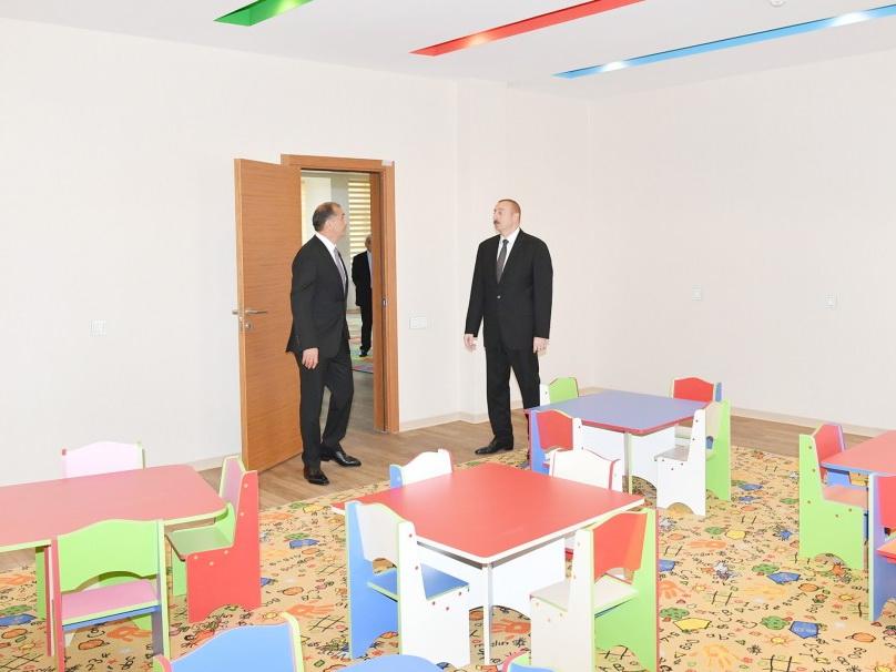 По инициативе Фонда Гейдара Алиева в Имишли построены ясли-детский сад на 100 мест - ФОТО