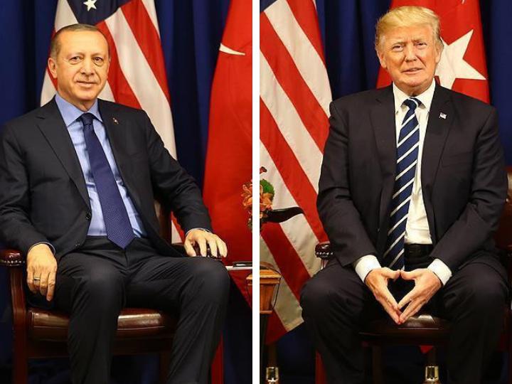 Эрдоган и Трамп обсудили дела журналиста Хашогги, пастора Брансона и ситуацию в Сирии