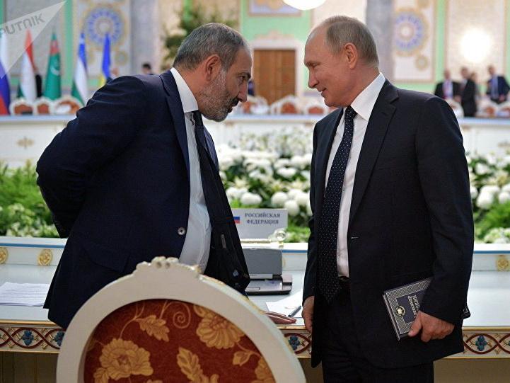 Пашинян рассказал об отношениях с Путиным