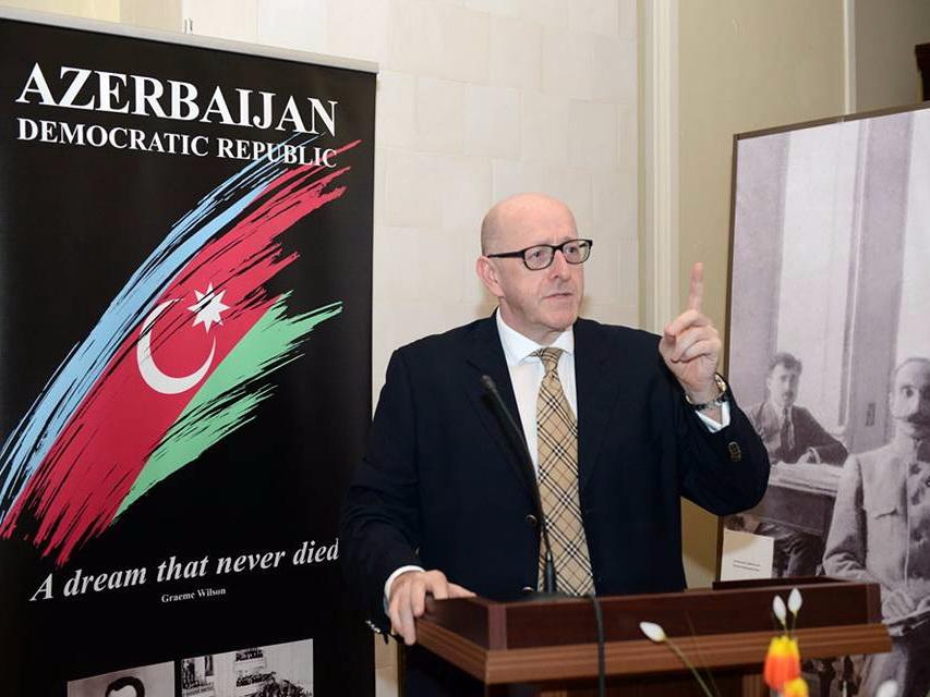 Грэм Уилсон: «Азербайджанский народ уверен в своем настоящем и будущем» - ФОТО