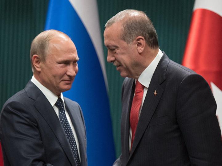 Москва анонсировала встречу Путина и Эрдогана