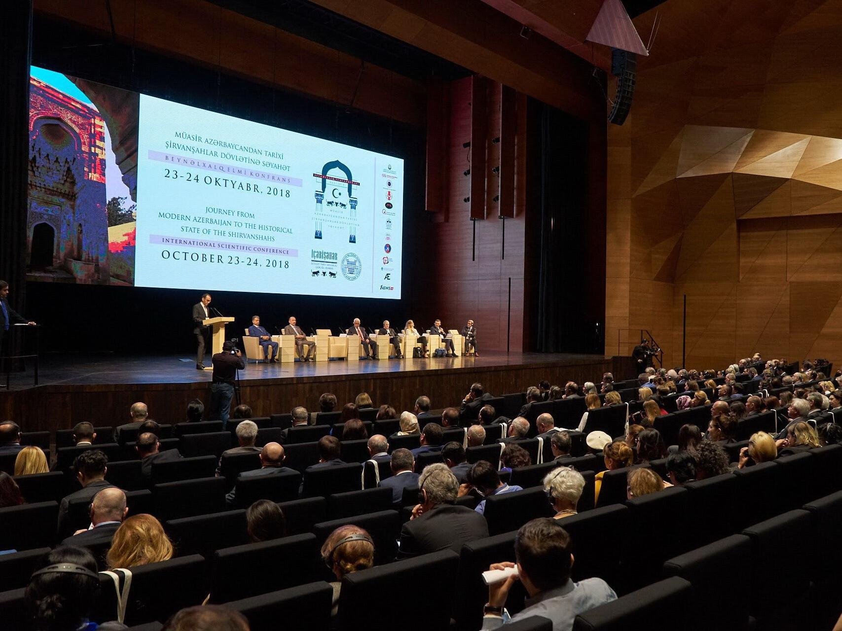 В Баку стартовала научная конференция, посвященная государству Ширваншахов – ФОТО