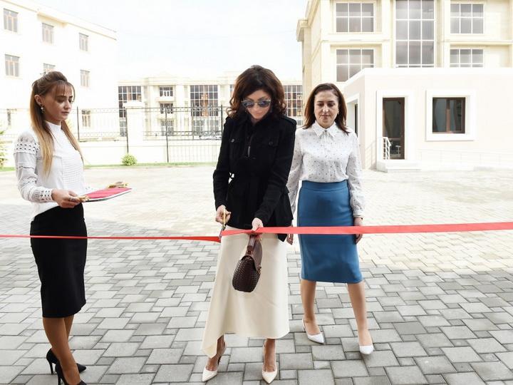 Мехрибан Алиева приняла участие в открытии в Баку нового здания специальной образовательной школы номер 11 – ФОТО