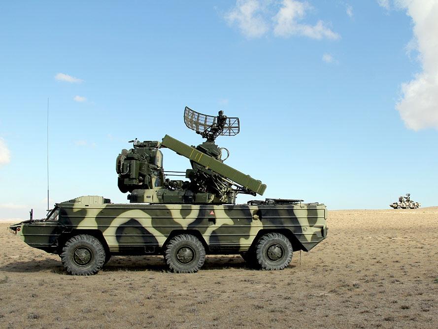 Продолжаются учения подразделений ПВО – ФОТО – ВИДЕО
