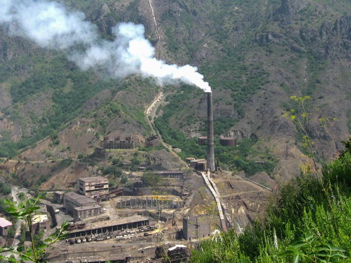 Металлургический гигант Армении остановился