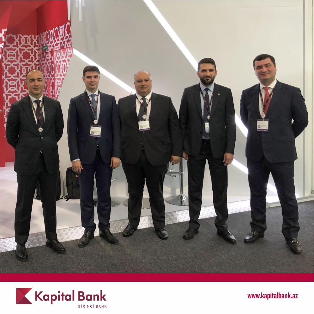 Kapital Bank ənənəvi SIBOS sərgisində iştirak edir – FOTO