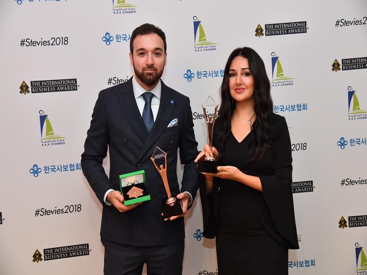 Gilan Holding победил в трех номинациях престижной Stevie Awards – ФОТО