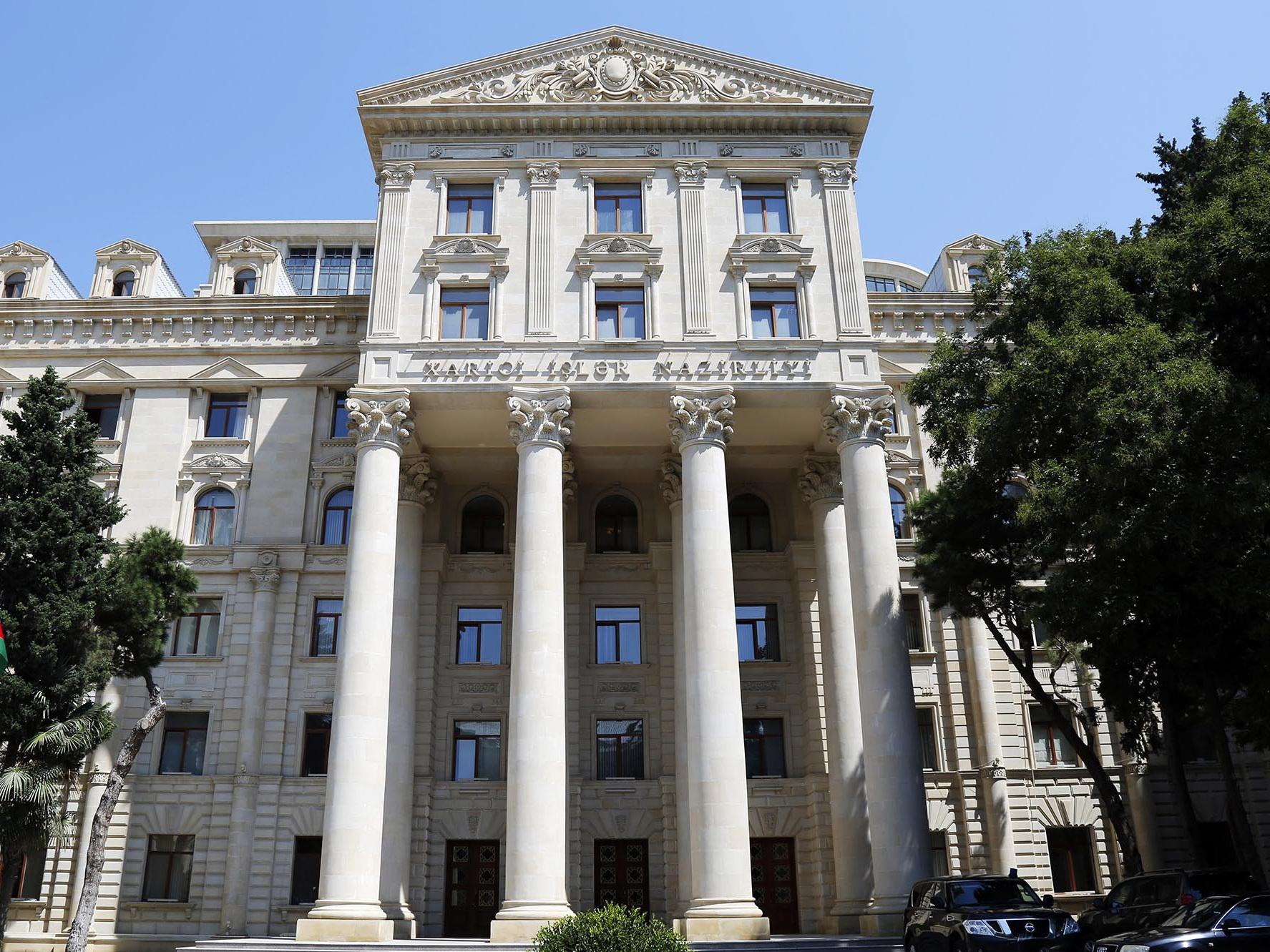 Баку выразил соболезнования Турции