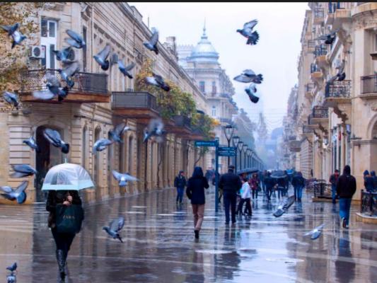 Завтра в Баку может пойти дождь