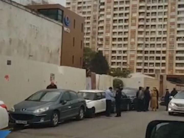 В Баку произошла цепная авария- ВИДЕО