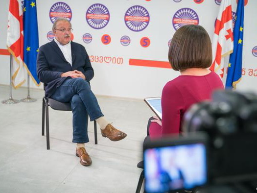 Григол Вашадзе о том, каким будет его отношение к Михаилу Саакашвили, если он станет президентом